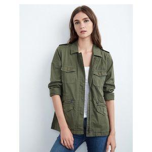 Velvet Light weight Army jacket
